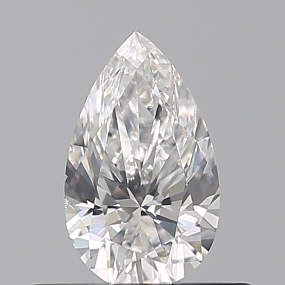 0.35 Carat Pear Loose Diamond, E, VS2, Excellent, GIA Certified