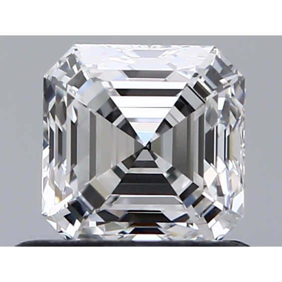 0.70 Carat Asscher Loose Diamond, F, VVS2, Super Ideal, GIA Certified