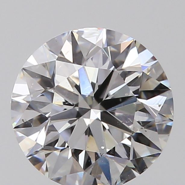 0.51 Carat Round Loose Diamond, E, SI1, Super Ideal, GIA Certified