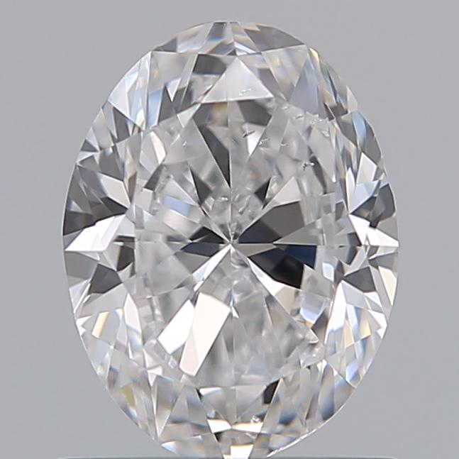 0.91 Carat Oval Loose Diamond, D, SI1, Excellent, GIA Certified