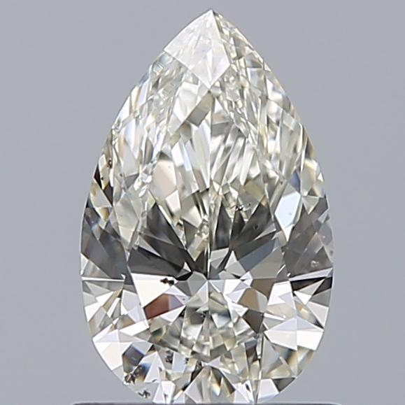 0.72 Carat Pear Loose Diamond, K, VS2, Super Ideal, GIA Certified
