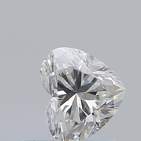 0.50 Carat Heart Loose Diamond, H, SI2, Excellent, GIA Certified