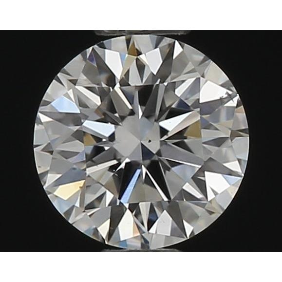 0.31 Carat Round Loose Diamond, G, SI1, Super Ideal, GIA Certified