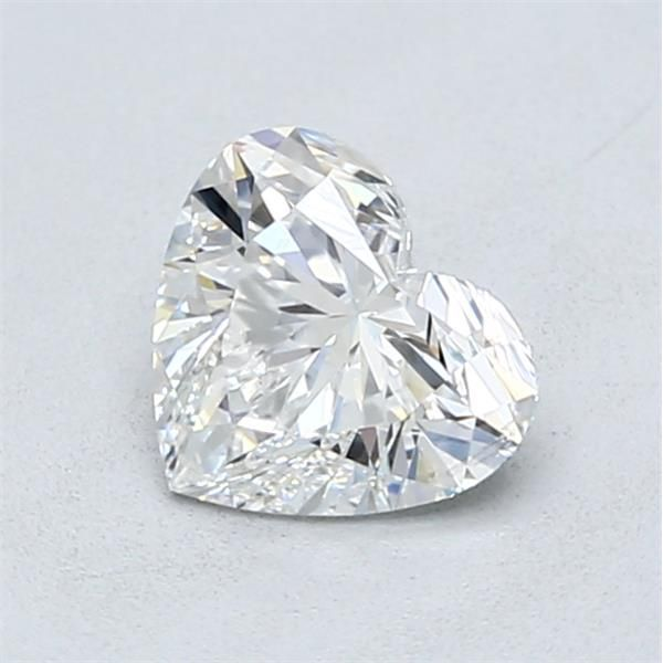 1.01 Carat Heart Loose Diamond, F, SI2, Super Ideal, GIA Certified