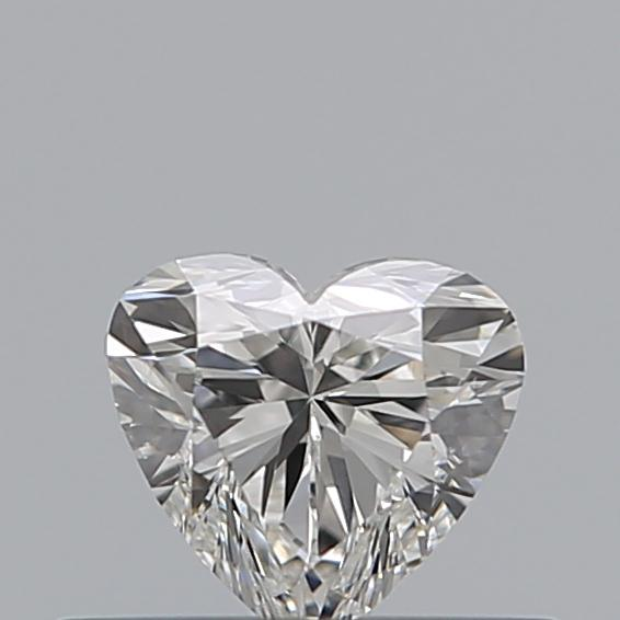 0.31 Carat Heart Loose Diamond, G, VS2, Ideal, GIA Certified | Thumbnail