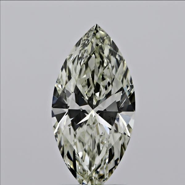 0.74 Carat Marquise Loose Diamond, N, VVS1, Ideal, GIA Certified | Thumbnail