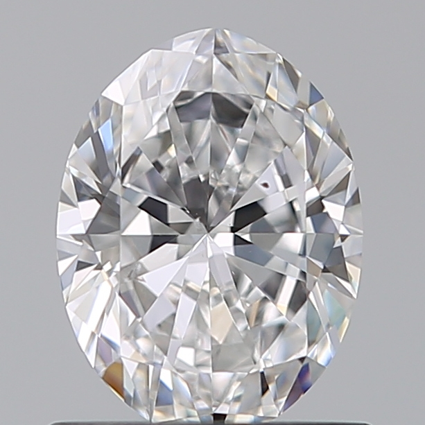 0.75 Carat Oval Loose Diamond, D, SI1, Super Ideal, GIA Certified