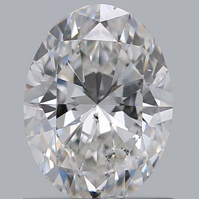 0.72 Carat Oval Loose Diamond, G, SI1, Super Ideal, GIA Certified