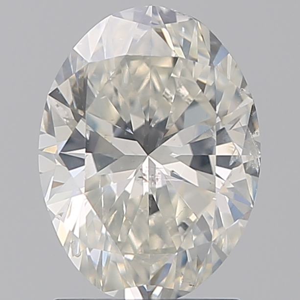 1.50 Carat Oval Loose Diamond, I, SI2, Super Ideal, GIA Certified