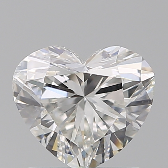 1.01 Carat Heart Loose Diamond, H, SI1, Super Ideal, GIA Certified | Thumbnail