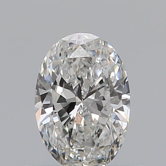 0.36 Carat Oval Loose Diamond, G, SI2, Ideal, GIA Certified