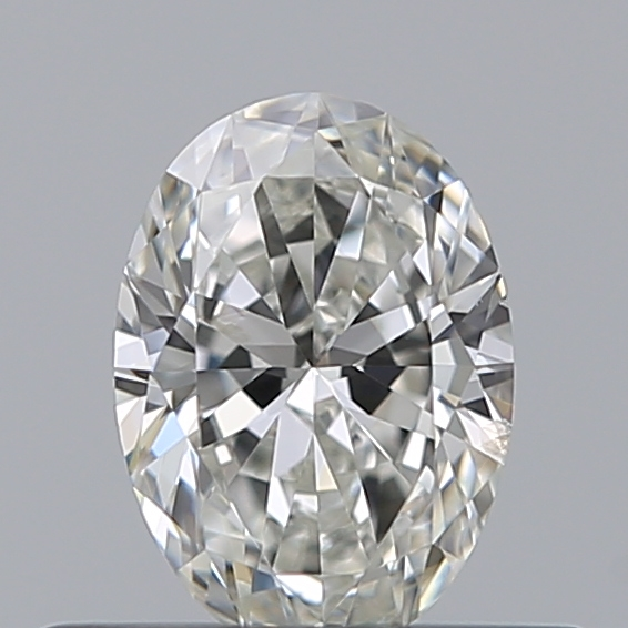 0.33 Carat Oval Loose Diamond, G, SI2, Super Ideal, GIA Certified