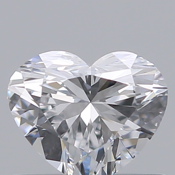 0.43 Carat Heart Loose Diamond, D, IF, Ideal, GIA Certified | Thumbnail