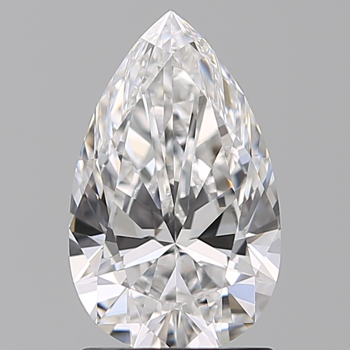 1.29 Carat Pear Loose Diamond, D, VS1, Super Ideal, GIA Certified
