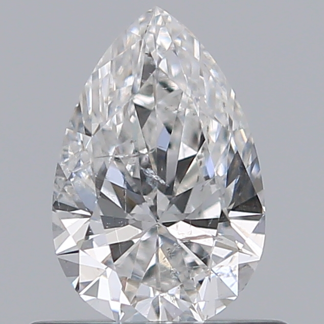 0.50 Carat Pear Loose Diamond, F, SI2, Super Ideal, GIA Certified