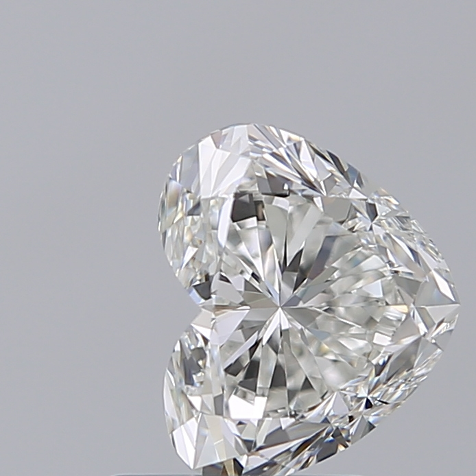 1.50 Carat Heart Loose Diamond, H, VS1, Ideal, GIA Certified