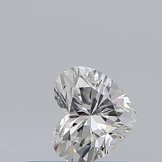 0.35 Carat Heart Loose Diamond, G, SI1, Excellent, GIA Certified
