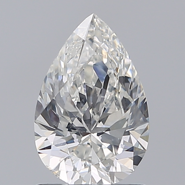 1.01 Carat Pear Loose Diamond, G, SI2, Super Ideal, GIA Certified
