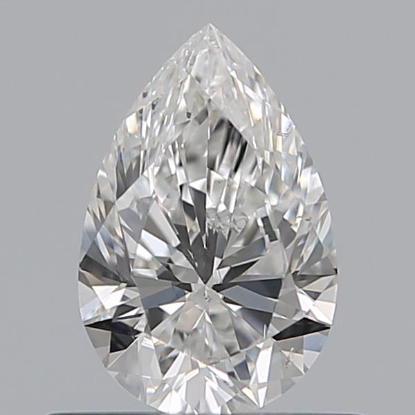0.50 Carat Pear Loose Diamond, F, SI1, Super Ideal, GIA Certified