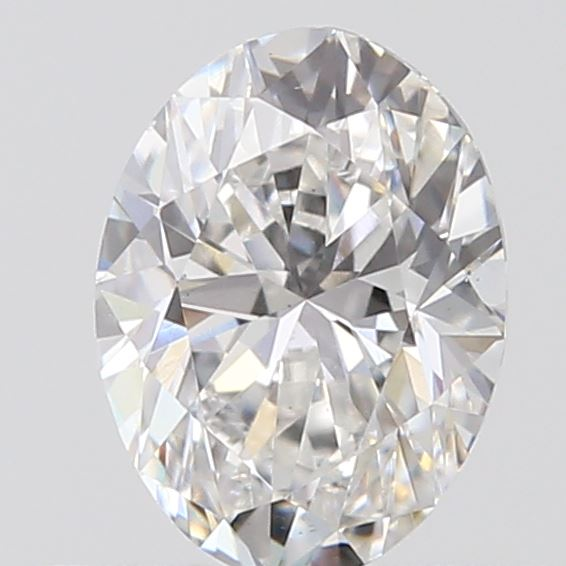0.40 Carat Oval Loose Diamond, E, VS2, Excellent, GIA Certified