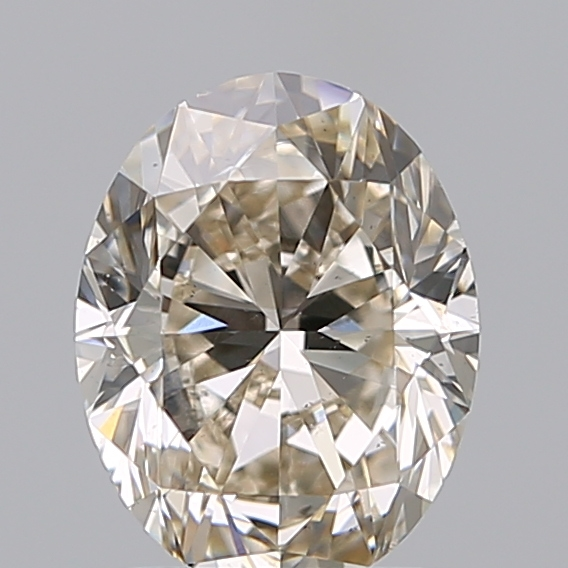 1.60 Carat Oval Loose Diamond, L, SI1, Excellent, GIA Certified
