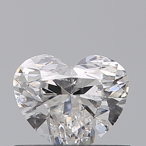 0.46 Carat Heart Loose Diamond, F, SI2, Excellent, GIA Certified