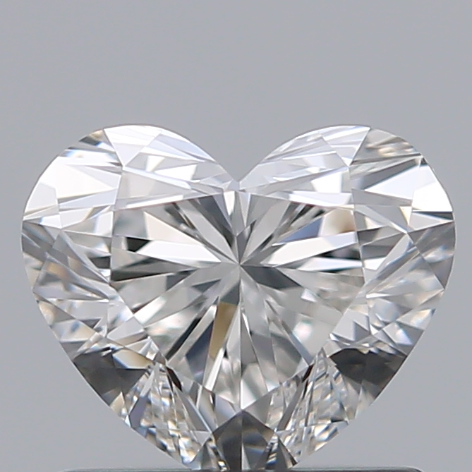 0.75 Carat Heart Loose Diamond, H, VS1, Ideal, GIA Certified