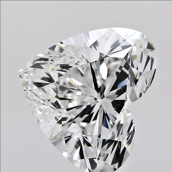 1.01 Carat Heart Loose Diamond, F, VS1, Super Ideal, GIA Certified | Thumbnail