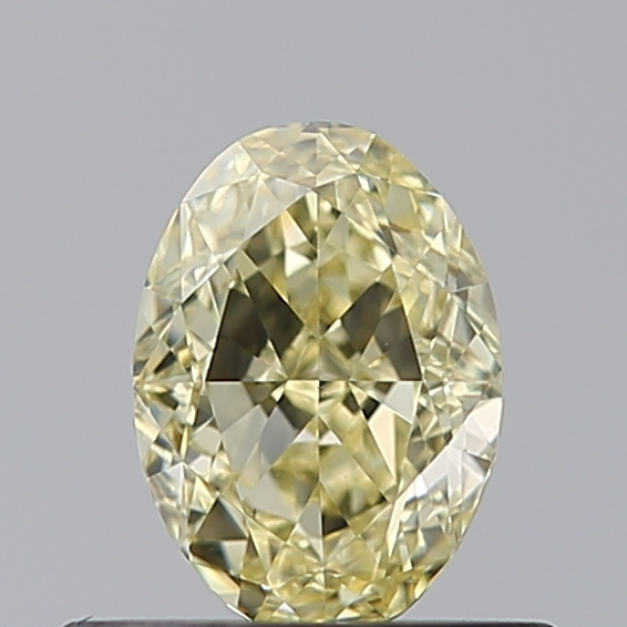 0.54 Carat Oval Loose Diamond, FANCY, VS1, Excellent, GIA Certified
