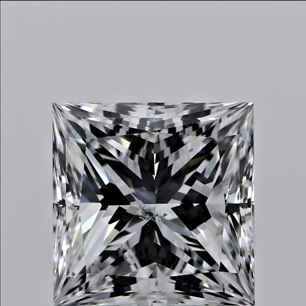 0.60 Carat Princess Loose Diamond, D, SI1, Ideal, GIA Certified