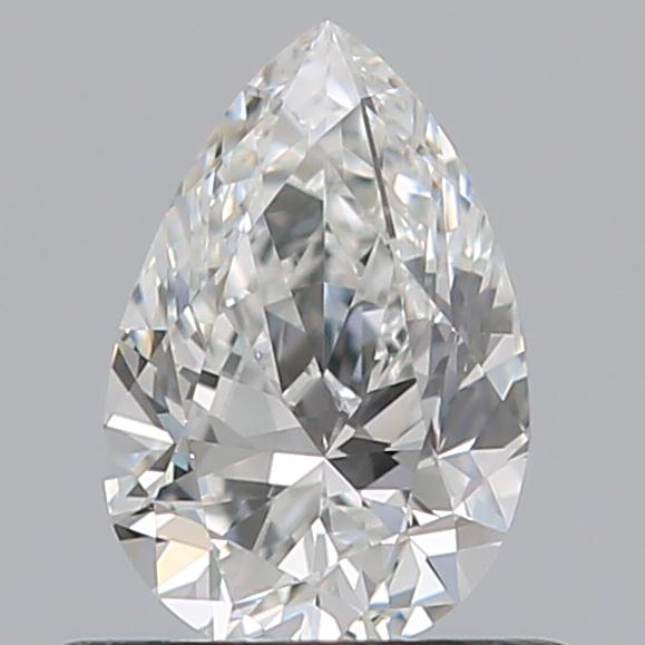 0.52 Carat Pear Loose Diamond, F, VS1, Super Ideal, GIA Certified | Thumbnail