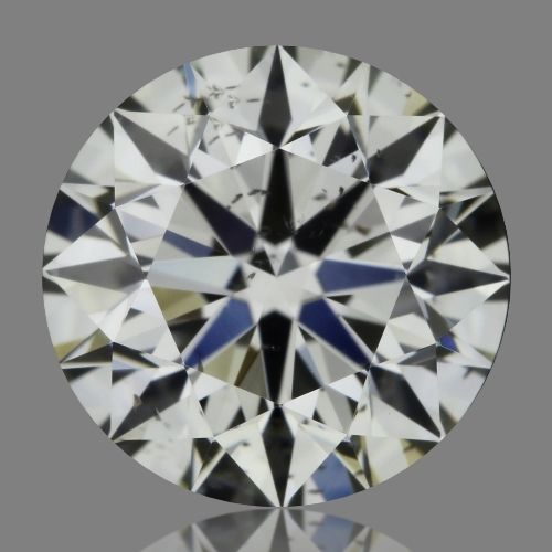 0.73 Carat Round Loose Diamond, K, SI2, Super Ideal, GIA Certified
