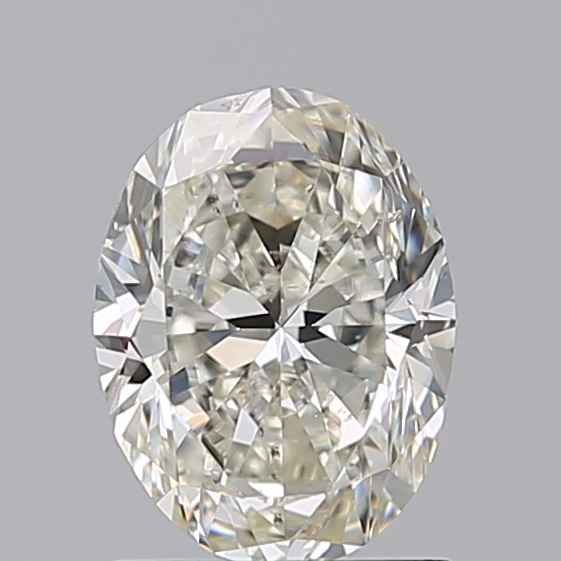 1.20 Carat Oval Loose Diamond, J, SI1, Excellent, GIA Certified