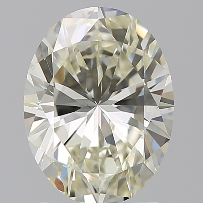 1.70 Carat Oval Loose Diamond, L, VS1, Ideal, GIA Certified | Thumbnail