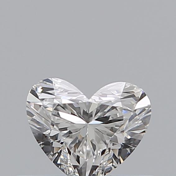 0.31 Carat Heart Loose Diamond, F, SI1, Ideal, GIA Certified