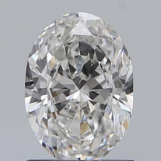 0.90 Carat Oval Loose Diamond, G, SI1, Super Ideal, GIA Certified