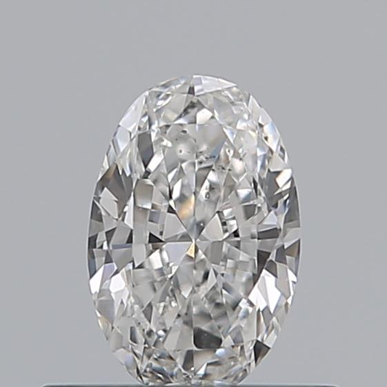 0.33 Carat Oval Loose Diamond, E, SI1, Excellent, GIA Certified