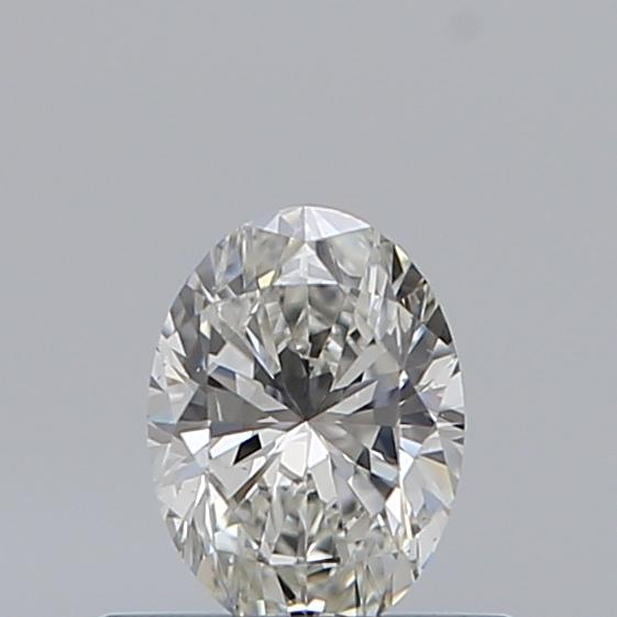 0.40 Carat Oval Loose Diamond, F, VS2, Ideal, GIA Certified | Thumbnail