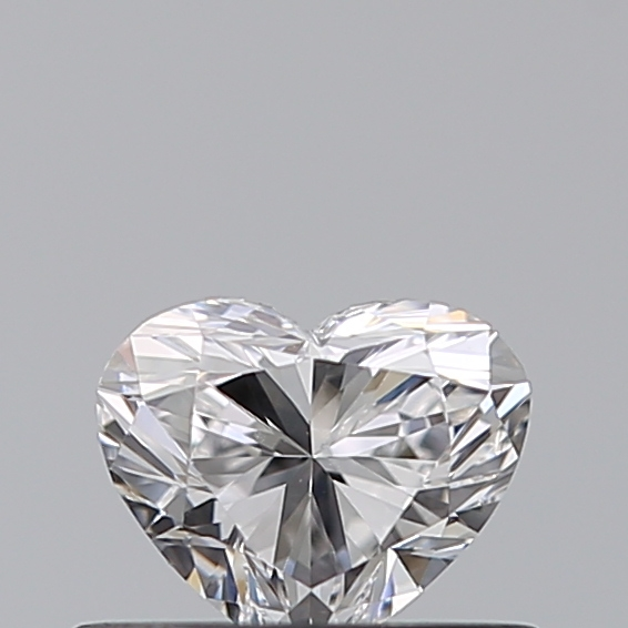 0.40 Carat Heart Loose Diamond, D, VVS1, Ideal, GIA Certified