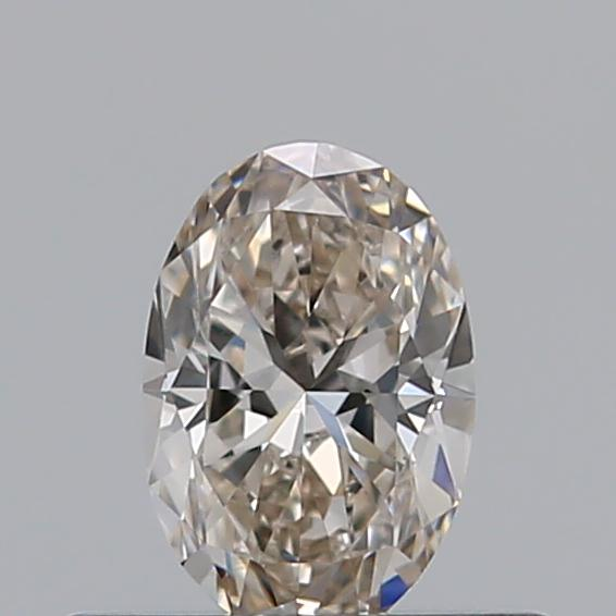 0.31 Carat Oval Loose Diamond, J, VS1, Excellent, GIA Certified