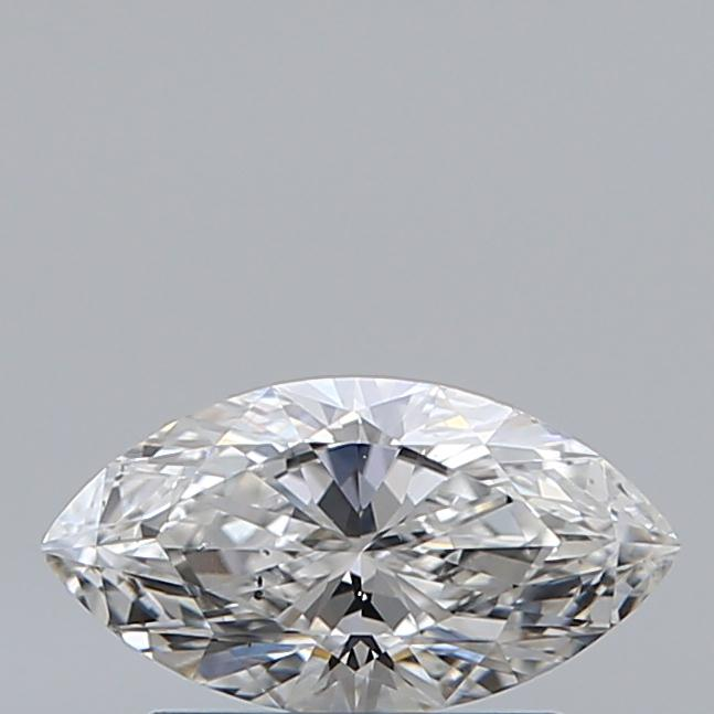 0.57 Carat Marquise Loose Diamond, E, SI1, Ideal, GIA Certified