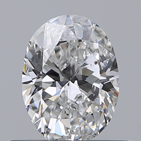 0.40 Carat Oval Loose Diamond, E, SI1, Excellent, GIA Certified