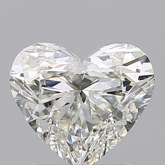 1.50 Carat Heart Loose Diamond, I, SI1, Ideal, GIA Certified