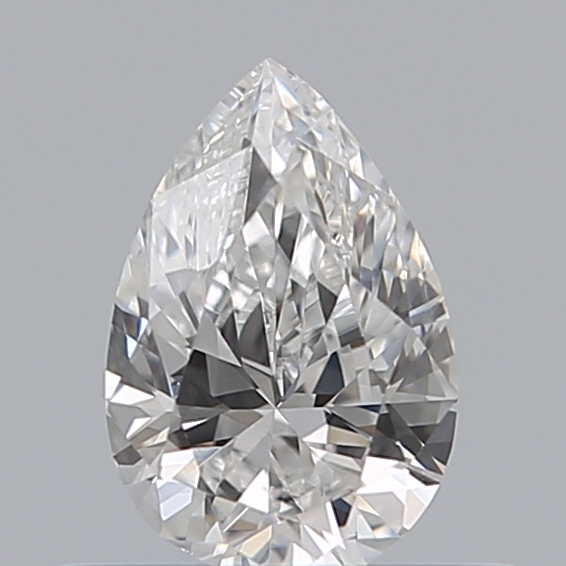 0.40 Carat Pear Loose Diamond, E, SI2, Excellent, GIA Certified