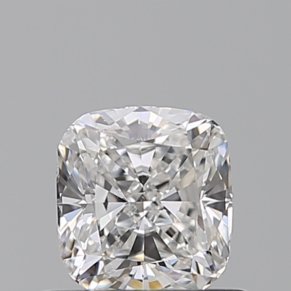 0.53 Carat Cushion Loose Diamond, E, VS2, Ideal, GIA Certified