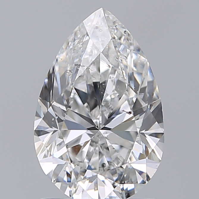 1.50 Carat Pear Loose Diamond, E, SI2, Excellent, GIA Certified | Thumbnail