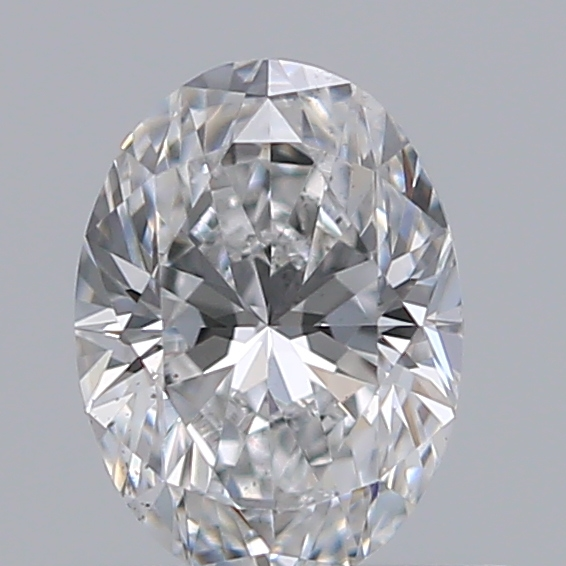 0.45 Carat Oval Loose Diamond, D, SI1, Super Ideal, GIA Certified | Thumbnail