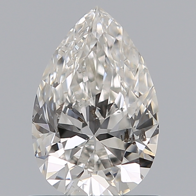 0.72 Carat Pear Loose Diamond, G, SI1, Ideal, GIA Certified | Thumbnail