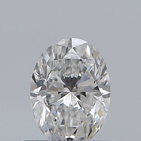 0.54 Carat Oval Loose Diamond, F, SI2, Super Ideal, GIA Certified | Thumbnail