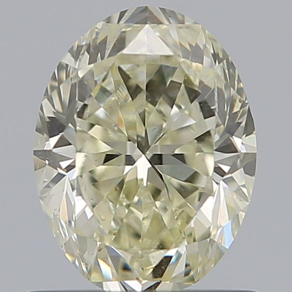 0.92 Carat Oval Loose Diamond, N, SI1, Excellent, GIA Certified